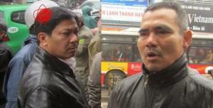 Khuôn mặt 2 tên Việt gian tay sai CS tham gia đàn áp, đánh đập chị Trần Thị Nga và những người H'Mông.