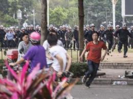 Công an Trung Quốc đàn áp biểu tình phản đối việc xây dựng nhà máy sản xuất paraxylène- REUTERS /Stringer