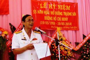 Chủ tịch Hội Truyền thống Trường Sơn – Đường Hồ Chí Minh tỉnh Khánh Hòa