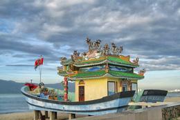 Đền cầu ngư của ngư dân Đà-Nẵng. RFA