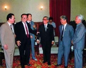 Lãnh đạo VN và TQ tại Thành Đô