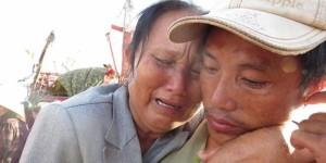 Ngày về đẫm lệ của ngư dân bị Trung Quốc bắt  (Nguồn: MTG)