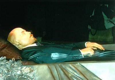 Xác ướp Lenin. Nguồn: Báo ĐSPL