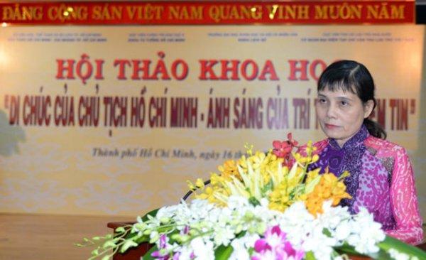 Tiến sĩ Nguyễn Thị Hoa Xinh