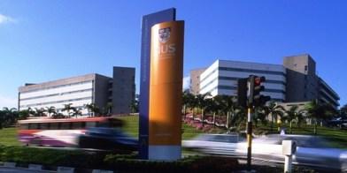 Trong bảng xếp hạng các trường đại học tại châu Á năm 2014 của tổ chức tư vấn giáo dục Quacquarelli Symonds (QS), Đại học Quốc gia Singapore (NUS) xếp thứ nhất. Ảnh: NUS