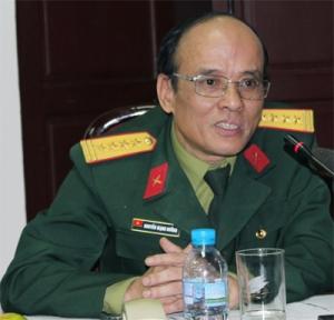 Đại tá, PGS TS Nguyễn Mạnh Hưởng. Nguồn: báo QĐND