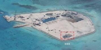 """Theo dư luận Philippines, Trung Quốc đang đẩy mạnh """"biến đá thành đảo"""" ở quần đảo Trường Sa của Việt Nam."""