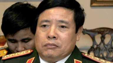Đại tướng Phùng Quang Thanh dẫn đầu đoàn đại biểu có 12 tướng lĩnh khác