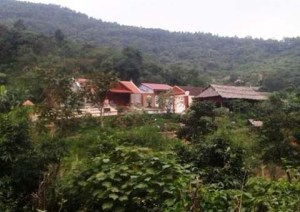 Trang trại của ông Bí thư huyện ủy Đỗ Minh Quý. Ảnh: VNN