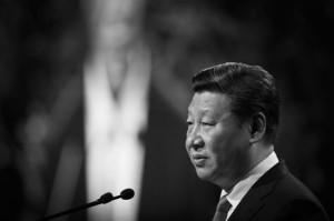 Ông Tập Cận Bình, người đứng đầu Đảng Cộng sản Trung Quốc, phát biểu tại Auckland, New Zealand, vào ngày 21 /11/2014. (Greg Bowker / Getty Images)