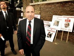 Ông Berezovski tổ chức đợt hoạt động lấy chữ ký phản đối chế độ Putin