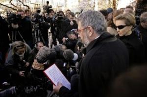 Lời ai điếu và tố cáo được đọc lên trong đám tang Alexandre Litvinenko.