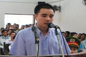 Hồ Duy Hải người suýt bị tử hình hôm 5 tháng 12. (Hình: Tuổi Trẻ)