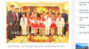 Tờ Tiền Phong đã thay bức ảnh gây 'sốt' cộng đồng mạng bằng một bức ảnh khác không thấy rõ nội thất ở bên trong nơi được cho là nhà của ông Mạnh