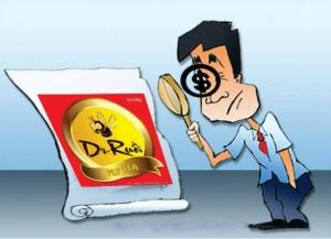 Một biếm họa liên quan đến xìcăngđan chất lượng sản phẩm của Tân Hiệp Phát đang được nhiều trang facebook chia sẻ. Ảnh: internet