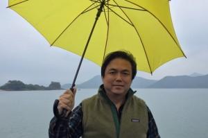 Edward Chin, nhà tổ chức của nhóm 2047 HK Finance Monitor. (ảnh cung cấp bởi Edward Chin)