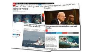 Báo chí thế giới bày tỏ lo âu về những hành động xây mới đảo nhân tạo của Trung Quốc ở quần đảo Trường Sa của Việt Nam