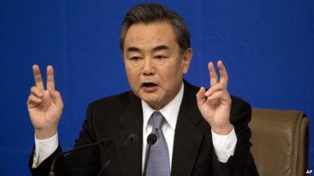 """Bộ trưởng Ngoại giao Trung Quốc Vương Nghị hôm 9/3 nói rằng các hành động bồi đắp của nước này ở biển Đông, vốn gây nhiều quan ngại không chỉ đối với các quốc gia tranh chấp và còn cả cộng đồng quốc tế, là """"hợp pháp và chính đáng""""."""
