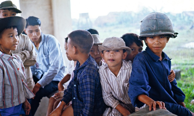 Vietnam child evacuees