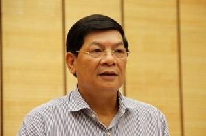 Ông Nguyễn Quốc Hùng, Phó chủ tịch UBND TP.Hà Nội tại cuộc họp báo