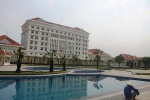 Nhà khách trị giá 165 tỉ đồng của tỉnh Quảng Nam. Ảnh: báo NLĐ