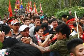 Hỗn chiến tại Lễ hội Đền Gióng