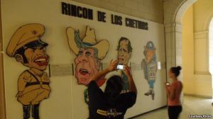 Hình ảnh chống Mỹ trong Bảo tàng Cách mạng (ảnh Bùi Văn Phú)
