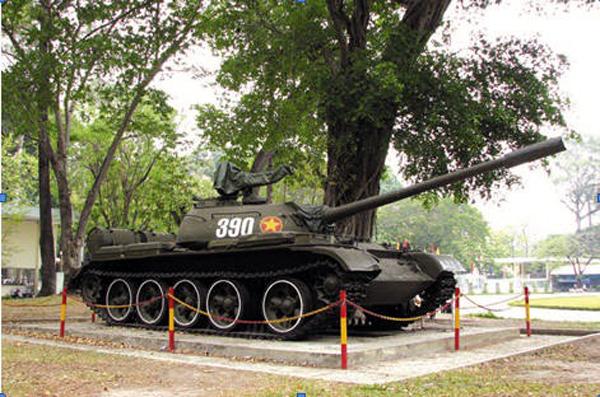 Ảnh chiếc xe tăng 390 trong số hàng loạt xe cùng số đang có khắp nơi