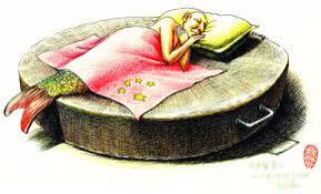 Ảnh minh họa: tranh của họa sĩ Kuang Biao (TQ)