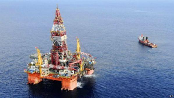 Giàn khoan 981 đang hoạt động ở Biển Đông