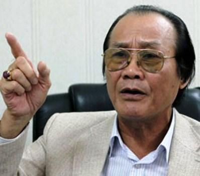 Tiến sĩ Trần Công Trục, nguyên trưởng Ban Biên giới Chính phủ (ảnh: Ngọc Quang)