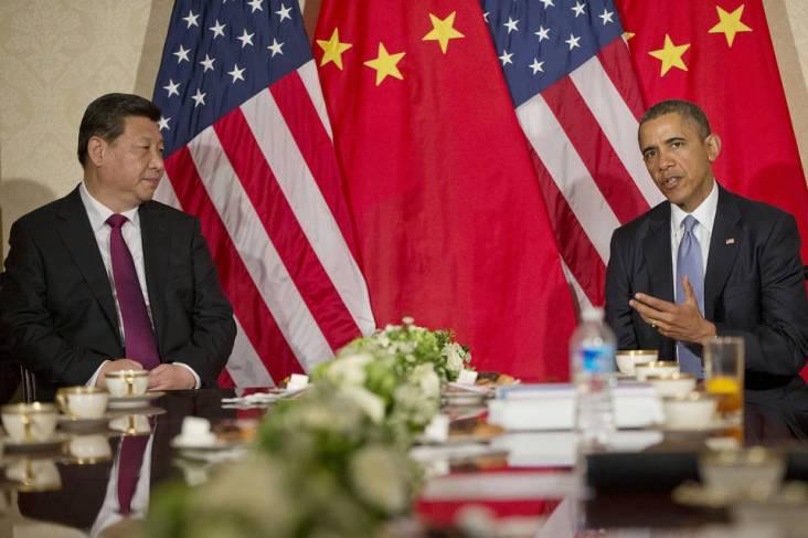 Hiên nay đối với nhiều người Mĩ, hứa hẹn sẽ là một đối tác ngoại giao với TQ thật xa vời hơn bao giờ hết. ẢNH: Corbis