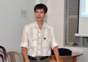 Nhà báo Phạm Chí Dũng. (Hình: Chuacuuthe.com)