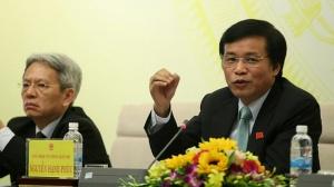 Chủ nhiệm VPQH Nguyễn Hạnh Phúc. Ảnh: Lê Anh Dũng