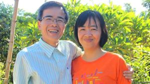 Luật sư Lê Quốc Quân ra tù và đoàn tụ với gia đình hôm 27/6/2015. Ảnh: FB Lê Quốc Quyết