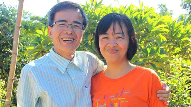 Luật sư Lê Quốc Quân ra tù và đoàn tụ với gia đình hôm 27/6/2015
