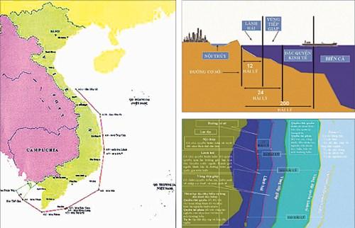 Đường cơ sở 1982 và các khái niệm pháp lý cơ bản của Luật Biển Việt Nam được báo Nam Định - cơ quan ngôn luận của Đảng bộ tỉnh Nam Định đăng tải để tuyên truyền giáo dục cho người dân. Nguồn: baonamdinh.
