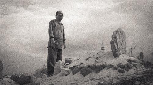 Cảnh trong phim MỘ gió, của đạo diễn Nguyễn Hữu Phần