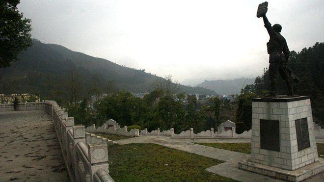 Một nghĩa trang Quân Giải phóng TQ ở tỉnh Vân Nam sau cuộc chiến 1979 với Việt Nam