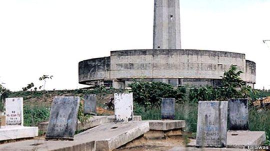 Nghĩa trang Biên Hòa. Nguồn ảnh: Talawas