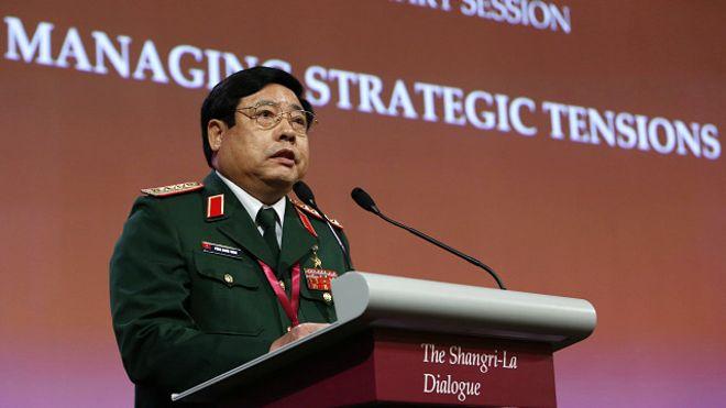 Đại tướng Phùng Quang Thanh tại Đối thoại Shangri-La 2013