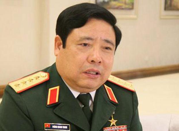 Bộ trưởng Quốc phòng Việt Nam, Phùng Quang Thanh. Ảnh minh họa chụp trước đây.