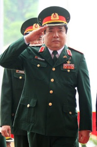 Đại tướng Phùng Quang Thanh, Bộ trưởng Quốc phòng VN