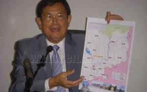 Ông Var Kim Hong, Trưởng ban Biên giới Chính phủ Campuchia. Ảnh: KI Media