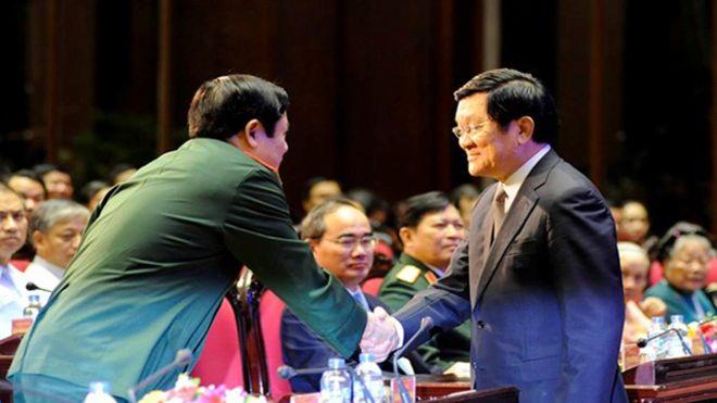 Nhiều ủy viên Bộ Chính trị có mặt tại sự kiện ngày 27/07 ở Bộ Quốc phòng Việt Nam