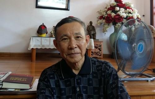Ông Vũ Quốc Hùng - nguyên Phó Chủ nhiệm Ủy ban Kiểm tra Trung ương. ảnh: Ngọc Quang.