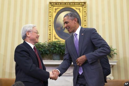 Tổng Bí thư Nguyễn Phú Trọng nói hai bên đồng ý thúc đẩy mối quan hệ toàn diện trong nhiều lĩnh vực, trong đó có quốc phòng và an ninh.