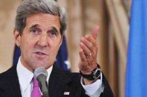 Chuyến thăm Việt Nam của Ngoại trưởng Hoa Kỳ John Kerry trở thành tâm điểm chống phá của Kha Long và Đại Công Báo. Ảnh: 24 India News.