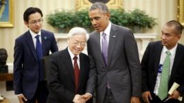 Chuyến thăm Mỹ của Tổng Bí thư Nguyễn Phú Trọng và đón sự tiếp trọng thị của chính quyền Mỹ được xem là một cột mốc trong tiến trình chuyển trục của Việt Nam
