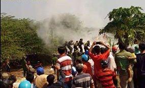 Cưỡng chế đất ở Thạnh Hóa, Long An ngày 14/4/2015